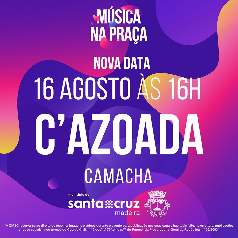 Música na Praça   C'Azoada
